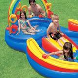Piscina Inflável Playground Arco Íris 227 Litros 57453 Intex