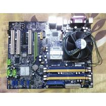 Tarjetas Madre Foxconn N15235 Con Procesador Core Duo 1.8ghz