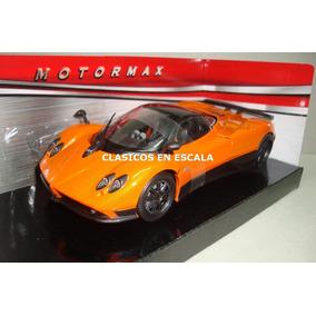 Pagani Zonda F Por Fangio - Naranja - Motormax 1/24