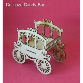 Carroza Candy Bar - Fibrofacil - Golosinas