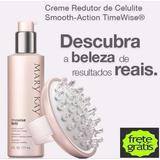 Kit Gel Creme Redutor De Celulite Mary Kay + Massageador