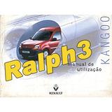 Manual Do Proprietário Renault Kangoo 2000