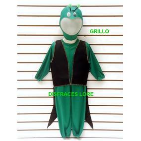 Disfraz De Grillo Talla 2 Años Disfraces De Animalitos