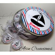 Souvenirs Lata +50 Jabones + Bolsitas + Tarjetas Nacimientos