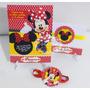 Convite Aniversário Minnie Vermelha Minie 10 Unidades