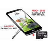 Lg Stylus 2 Plus 4g 32gb 16mp - 8mp Flash 2gb Ram+ Micro Sd