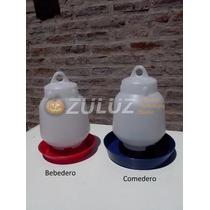 Bebederos Y Comederos Pollitos Y Aves,bulto X 25 Unidades