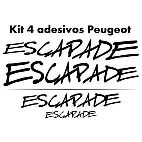 Kit Adesivos Peugeot Sw Escapade 207 206
