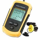 Sonar Portátil Com Sonda Ultra-sônica Para Pesca Fish Finder