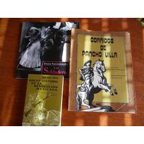 3.- Libros De La Revolución La Soldadera Y Corridos De Villa
