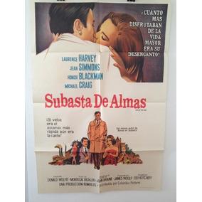 Afiche De Cine - Subasta De Almas