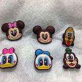 Pin Jibbitz Crocs Turma Do Mickey Modelo Exclusivo Frete 10,