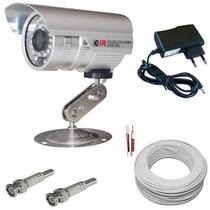 Kit 1 Câmera De Vigilância Infravermelho - Cftv