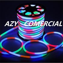Kit 20m Mangueira Super Led Neon Collor + Controle 110v