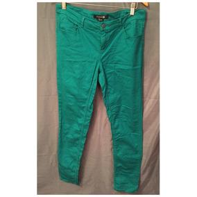 Pantalón Forever 21 Talle L Color Verde