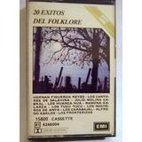 Cassette 20 Exitos Del Folklore, Emi Argentina