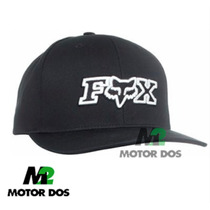 Gorra Original Fox Head Snapback One Size Negra - Motordos