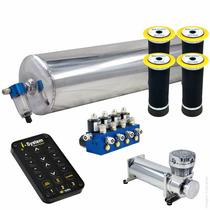 Kit Ar 8x1+controle Isystem+ Cilindro Aluminio - Fiat Brava