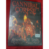 Cannibal Corpse Monolith Of Deathdvd Importado Usa