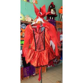 Disfraz De Diablita Con Mallitas.