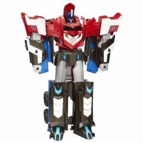 Transformers Mega Optimus Prime Robots 3 Pasos 27cm Hasbro