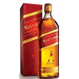 Whisky Jhonny Walker Red X 4 Botellas De 1lt