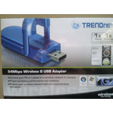 Inalambrico Usb Trend Net 54 Mbps Wireless