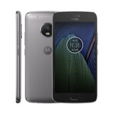 Moto G5 Plus Original Xt1683 Platinum Lacrado Garantia 1 Ano