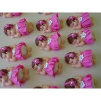 Kit 20 Bebe Biscuit Lembrancinha Nascimento Maternidade Cha