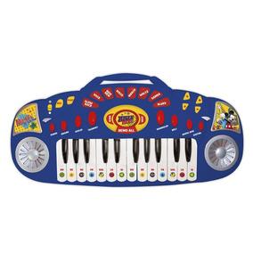 Organo Musical Disney Mickey 8 Ritmos Azul