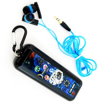 Audifonos Poker Azules Mp3 Estuche Universales Li-e3160