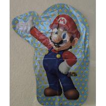 Mario Bross Globo 1 Fiestas Eventos 90 Cm Alto Helio