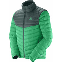 Campera Salomon Halo Down 2 Plumon Pluma Antidesgarre Hombre