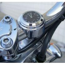 Relógio Guidão, Moto, Motocicleta, Custom, Harley