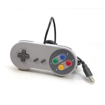 Joystick Gamepad Usb Retro Tipo Snes Windows Mac Linux Envio