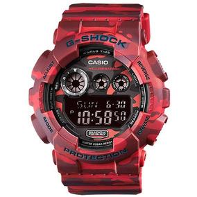 Relógio Masculino Casio G-shock Gd-120cm-4dr Nota Fiscal