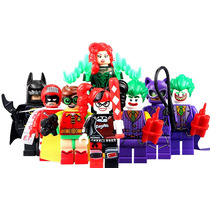 Robin Joker Harley Quinn Gatubela Batman Compatible Con Lego