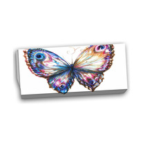 Arte Impreso Isolated Butterfly Animal Canvas Art Print, 3
