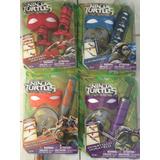 Tortugas Ninja Armas Antifaz Y Estrella, C/u, Tmnt