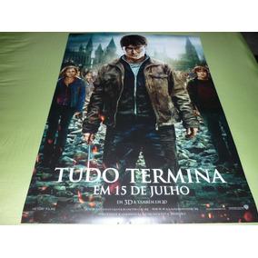 Poster/cartaz Do Filme Harry Potter E As Reliquias - Pt. 2