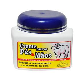Creme P/ Os Pés & Mãos C/ Sebo Carneiro