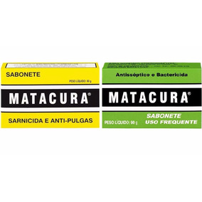 Kit Sabonete Matacura Sarnicida 80g + Antisséptico 90g