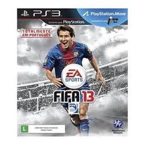 Jogo Ps3 Fifa Soccer 13 Sem Uso Lacrado Ac Trocas.