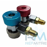 Acoples Rapidos C/robinete Para Carga De Aa Automotriz R134a