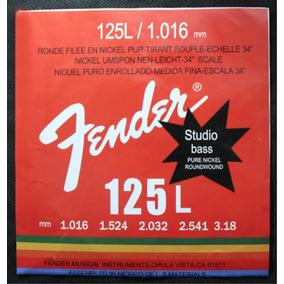 Encordoamento Fender 5 Cordas Para Baixo | 040 - 125