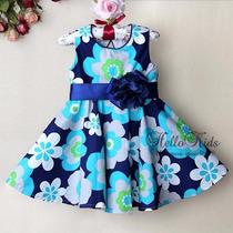 Vestido Infantil Bebe Menina Importado Pronta Entrega
