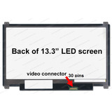Display 13.3 Led Slim 30 Pins N133bge Acer S5 E1 Macbook Air