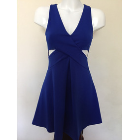 Vestido De Fiesta Azul Rey Express