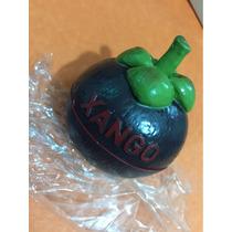 Fruta De Mangostan Replica En Plástico