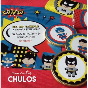 Kit Candy Personalizado Varon -impresiones Listas- Para 20